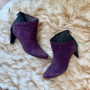 Brand new Tsubo Felecia leather/suede booties